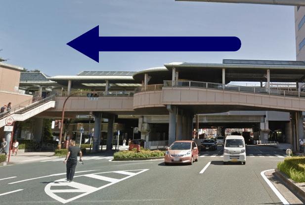 メンズTBC浜松アクトタワー店への道順(行き方)