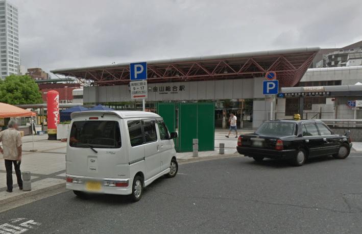 メンズTBC金山店への道順(行き方)