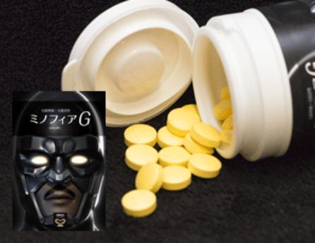 ゴリラクリニックのAGA治療のための内服薬は「ミノフィアG」と呼ばれるオリジナルの薄毛(AGA)治療薬です。